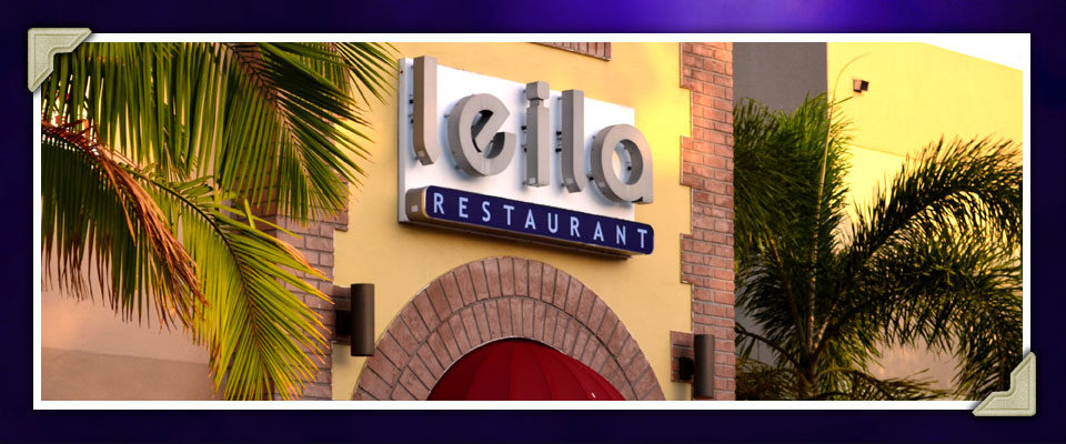 Learn About Leila Restaurant In Downtown West Palm Beach